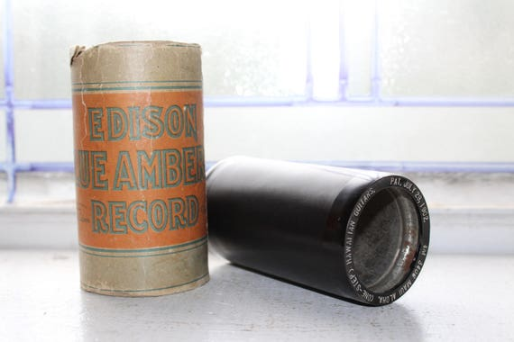 Antique Edison Cylinder Record 3408 Maui Aloha One Step Phonograph