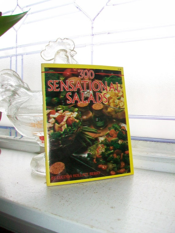 Vintage Cookbook 300 Sensational Salads
