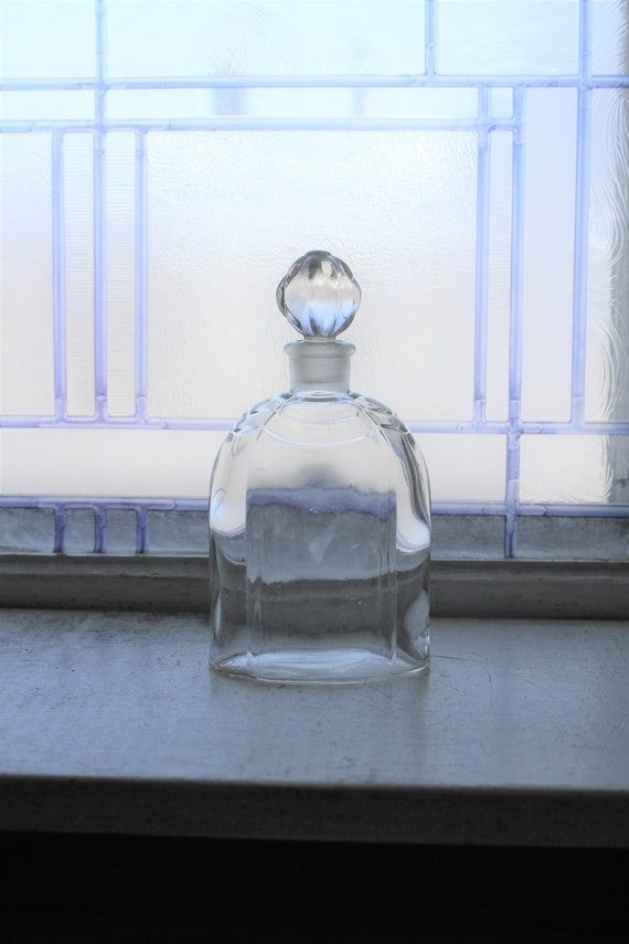 Vintage Glass Dresser Bottle Jar