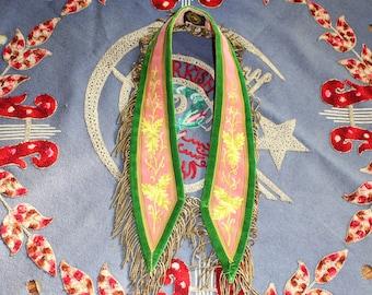 Antique Odd Fellows Sash Masonic Halloween Rennaissance Costume Wizard