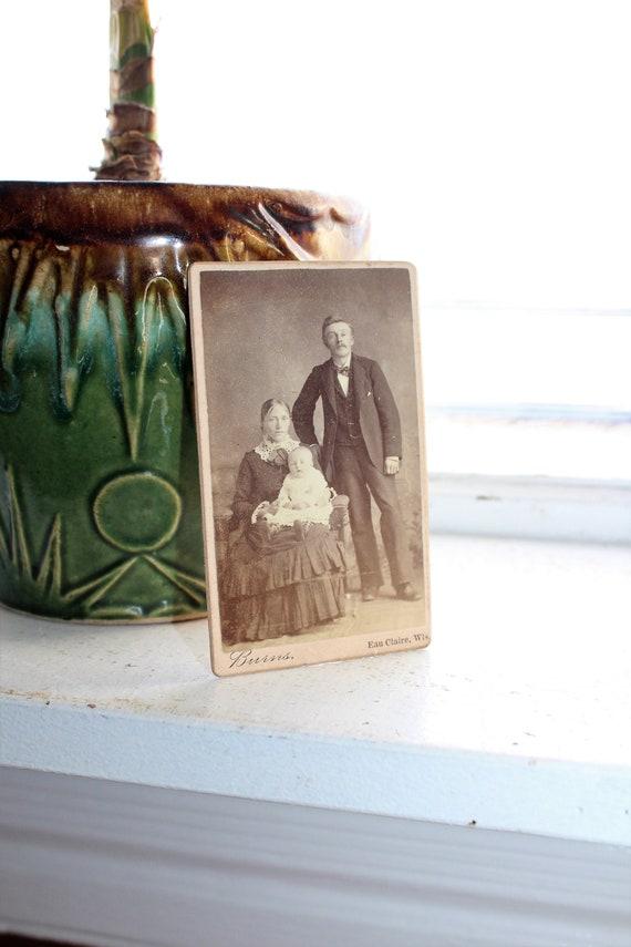 Antique Carte De Visite CDV Photograph Victorian Family 1800s