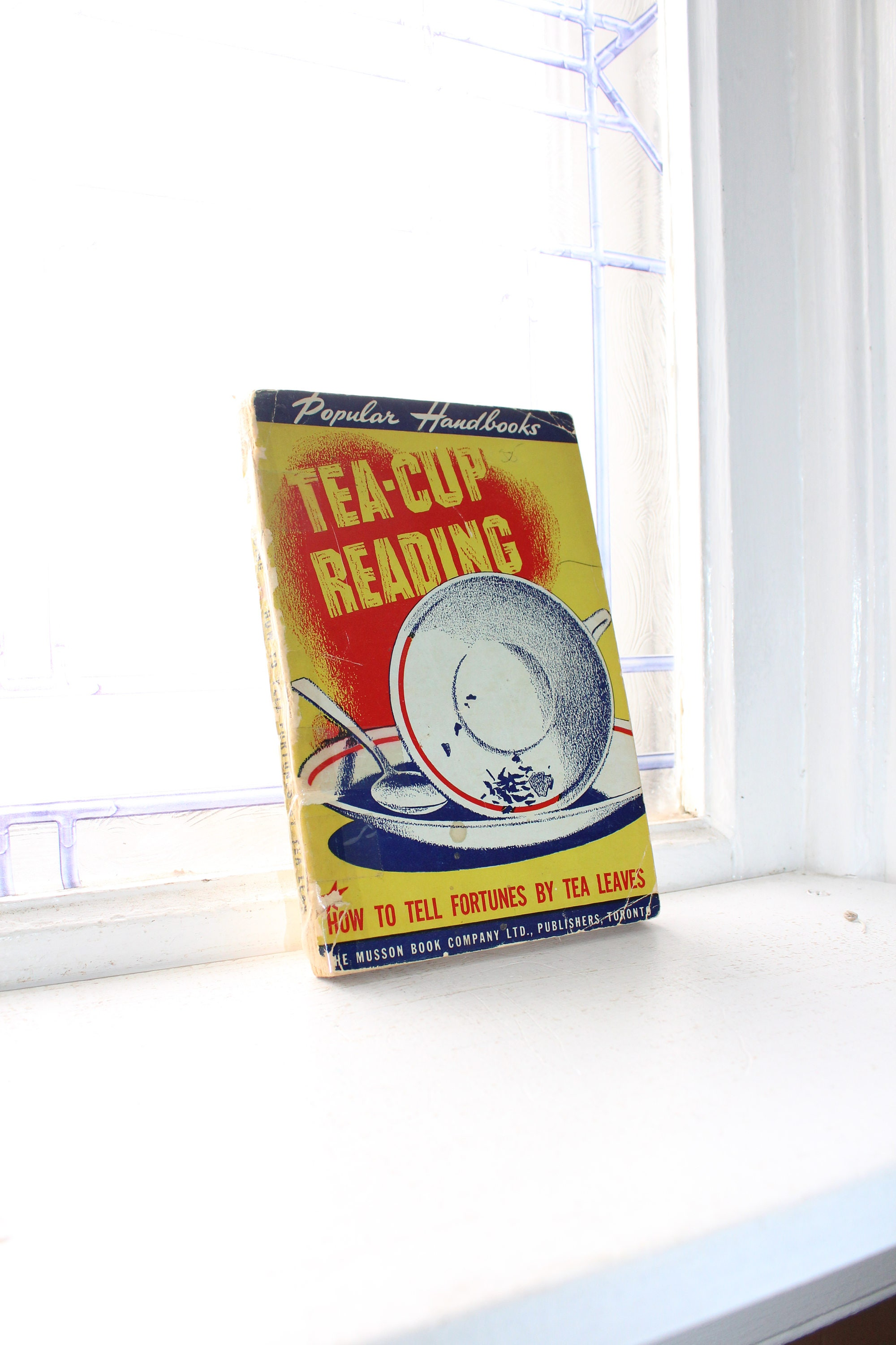 Tea Cup Reading Vintage 1944 Occult Book
