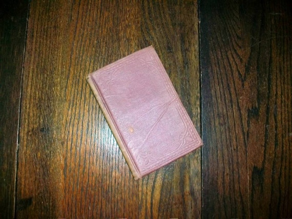 Antique 1863 Book Tramps in New York by Rebecca
