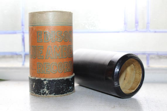 Antique Edison Cylinder Record 4850 Hulu Lou Fox Trot Phonograph