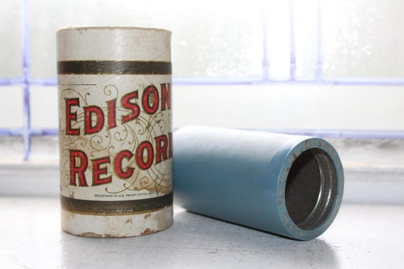 Antique Edison Cylinder Record 3167 Selection from the Chocolate Soldier Phonograph