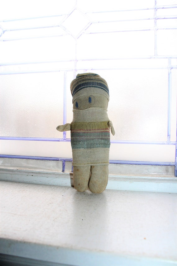Adorable Antique Sock Doll Rag Doll