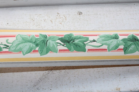 Vintage 1950s Wallpaper Border Royal Ivy Dex Brand Unused Wall Paper