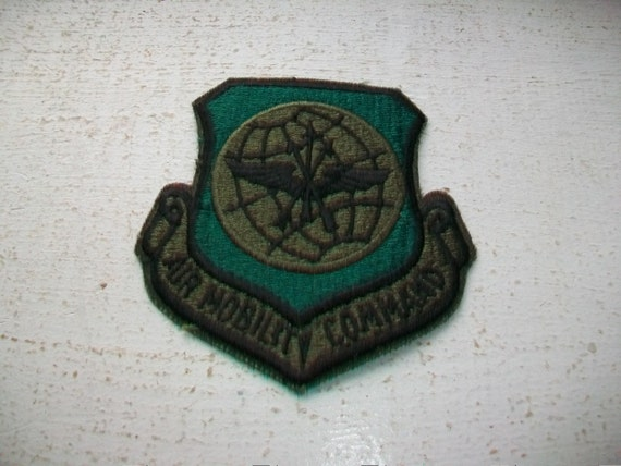 US Air Force Air Mobility Command Patch New Old Stock