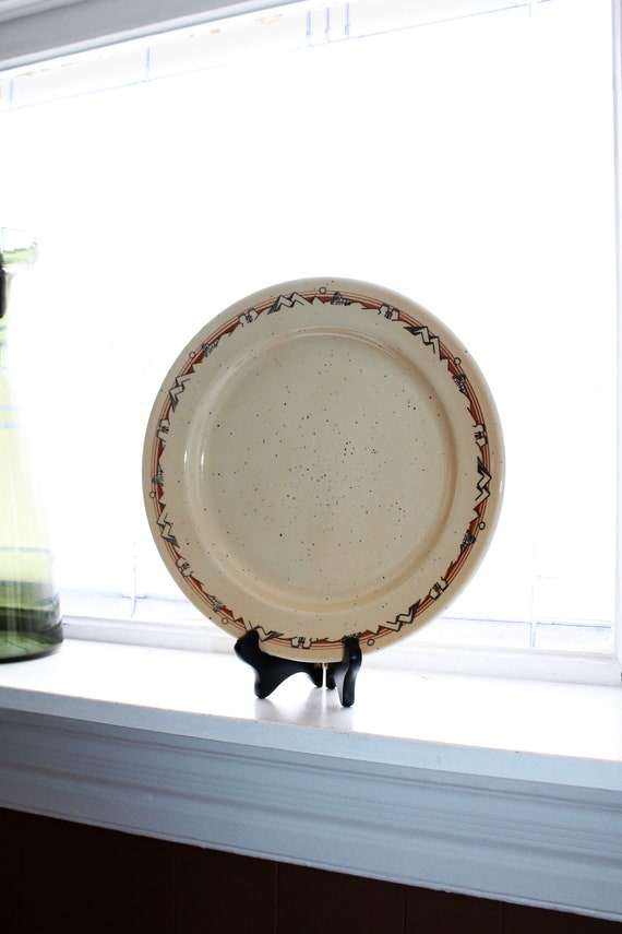 Classic Oneida Egyptian Charger Platter Chop Plate 11-05A Vintage