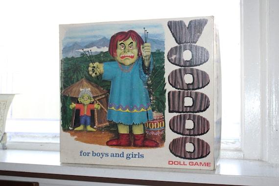 Vintage 1960s Voodoo Doll Game by Schaper