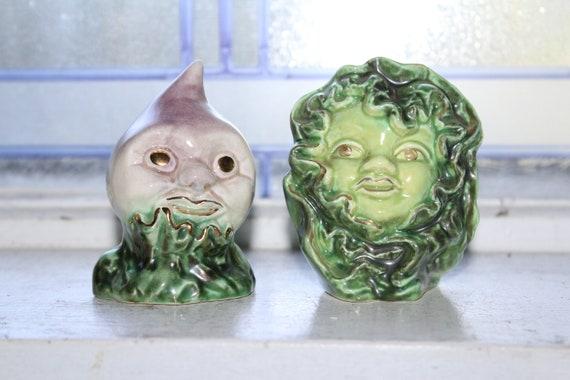 Anthropomorphic Vegetables Salt and Pepper Shakers Vallona Starr