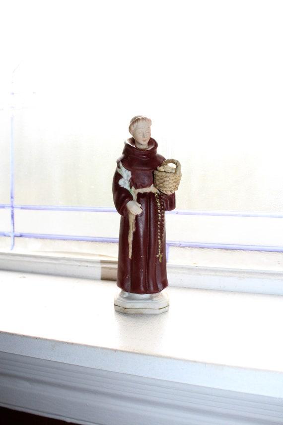 Vintage St Anthony Catholic Religious Statue Figurine
