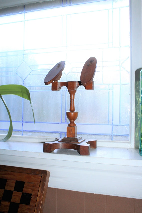 Antique Victorian Shoe Stand General Store Adjustable Display
