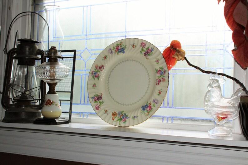 Large Minton Bala Platter Chop Plate Vintage Serving Piece 15