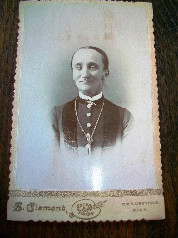 Vintage 1800s Cabinet Card Photograph Masonic Gentleman Victorian Era