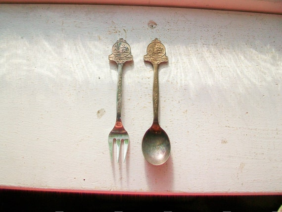 North Dakota Collector Spoon and Fork Centennial