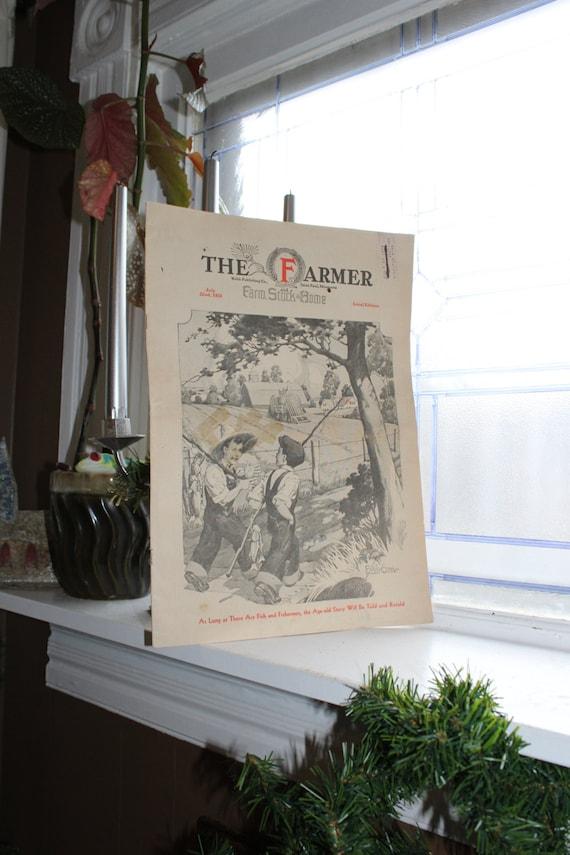 Vintage 1933 Magazine The Farmer St Paul Minnesota