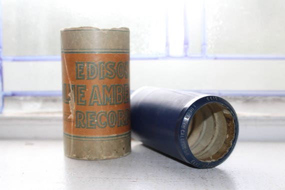 Antique Edison Cylinder Record 3133 I Hear You Calling Me Phonograph
