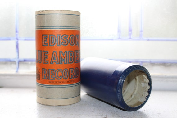 Antique Edison Cylinder Record 2978 I Lost My Heart In Honolulu Phonograph