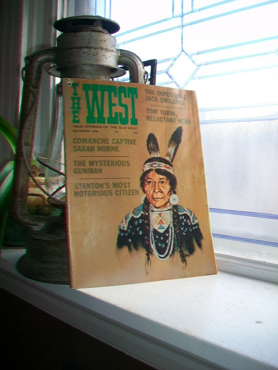 1966 Magazine True Stories of The West