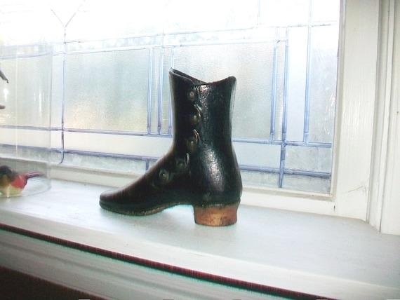 1800s Cast Iron Shoe Ladies Mannequin Antique Rustic Farmhouse Decor
