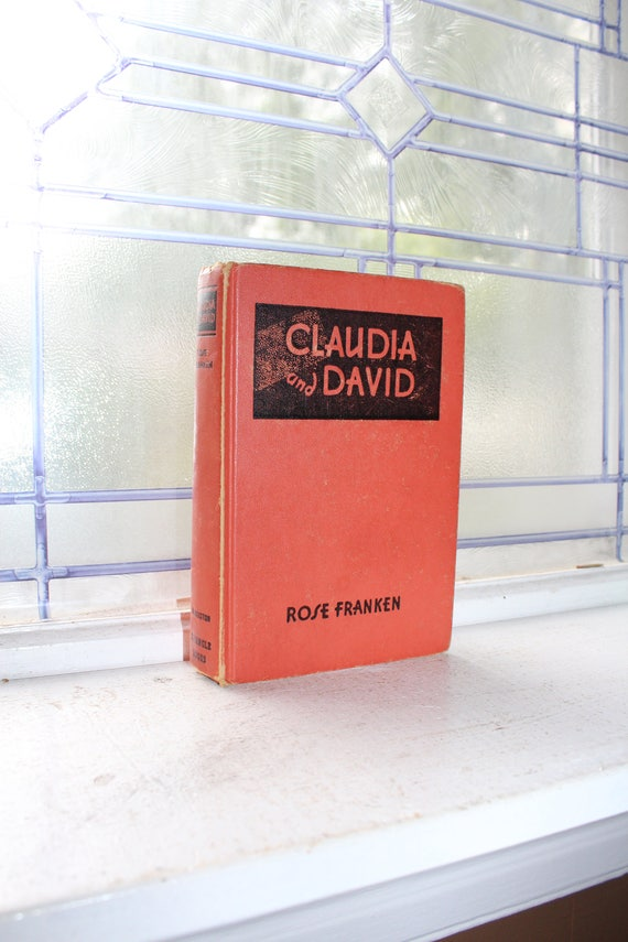 Claudia and David by Rose Franken Vintage 1946 Book