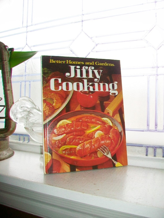 Vintage Cookbook Jiffy Cooking Better Homes and Gardens