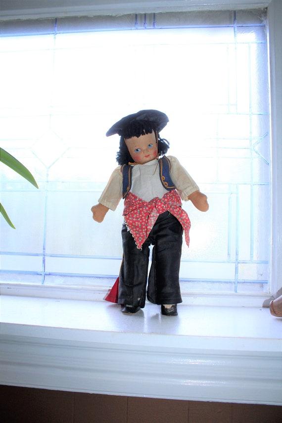 Vintage Spanish Doll