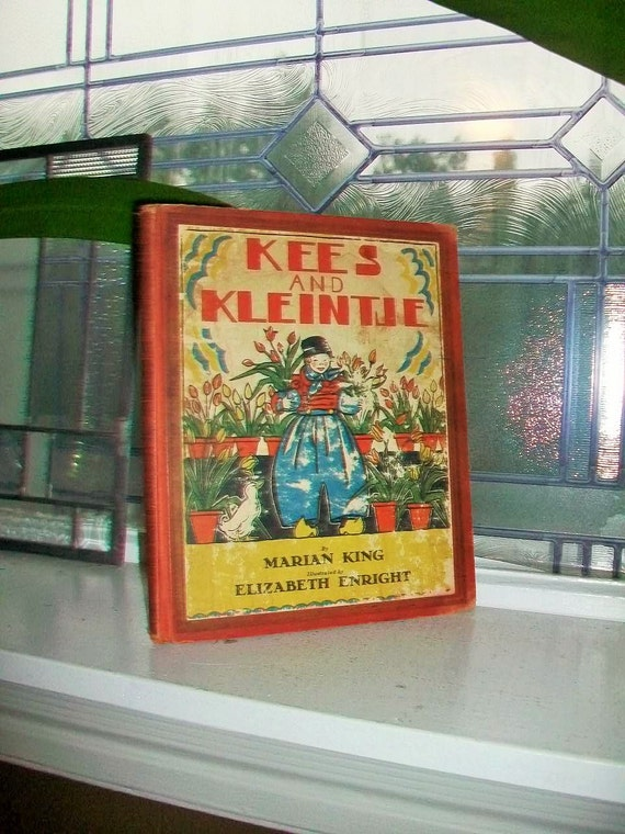 Kees and Kleintje by Marian King Vintage Childrens Book 1938