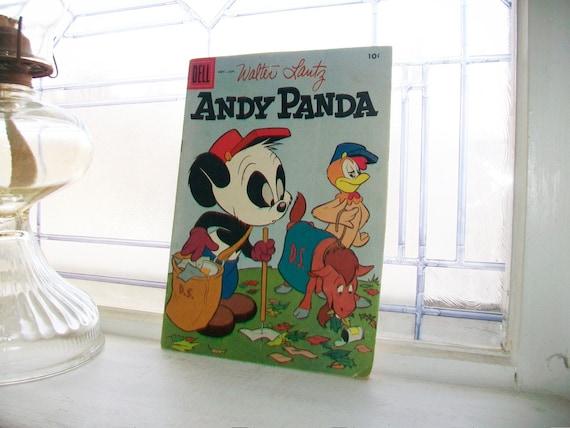 Andy Panda Comic Book Nov - Jan 1958