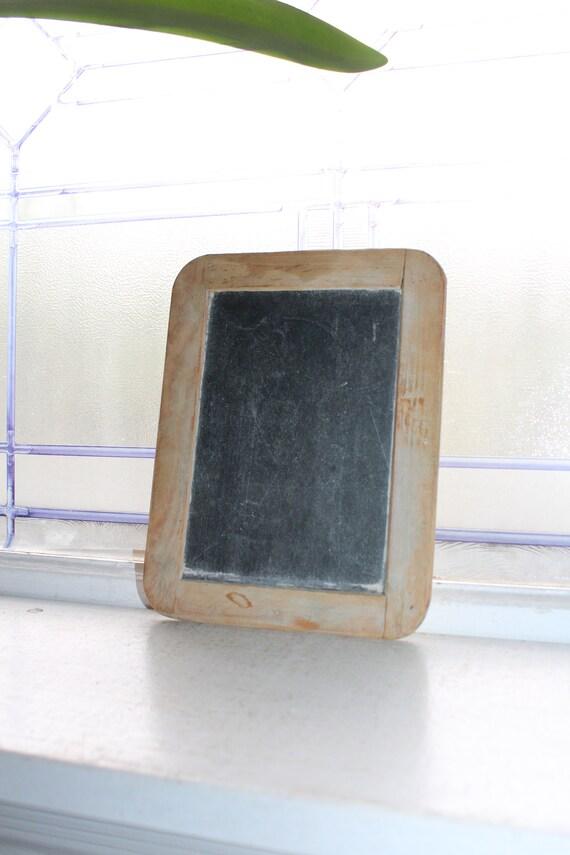 Antique Primitive Schoolhouse Slate Chalkboard Rustic Farmhouse Decor