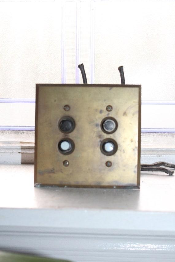 Antique Push Button Light Switch Architectural Salvage