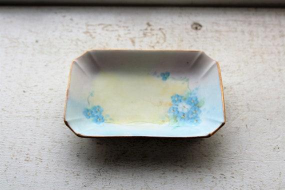 Vintage Hand Painted Nippon Ashtray