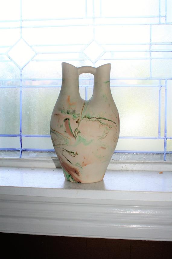 Nemadji Wedding Vase Vintage Pottery Southwestern Decor