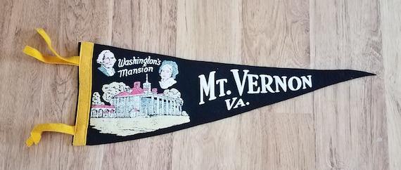 Mount Vernon collectible souvenir wall hanging