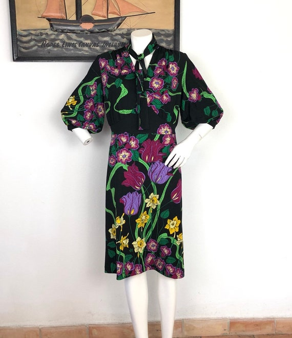 Vintage liberty dress Desiree 70s