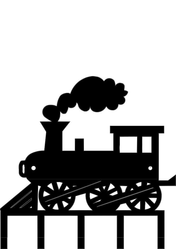 Steam Engine Train Key Holder Organizer 5 Hooks