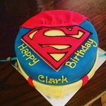 Super hero Dog cake