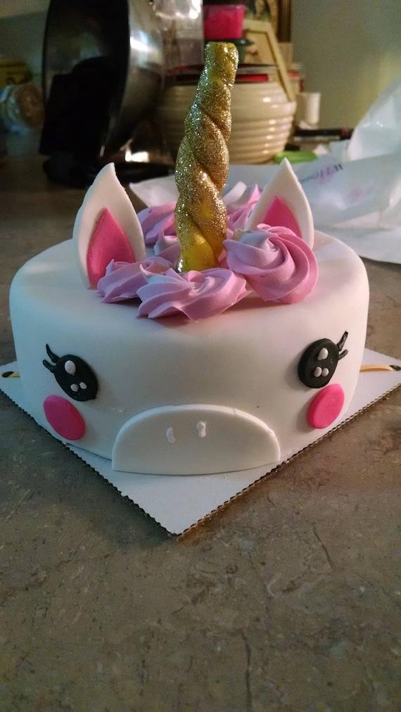 Groovy Unicorn Cake Horse Birthday Cake Peanut Butter Alfalfa Pet Etsy Birthday Cards Printable Giouspongecafe Filternl
