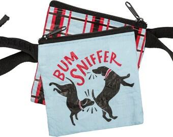 Pet Waste Bag Dispenser - Bum Sniffer poop bag holder