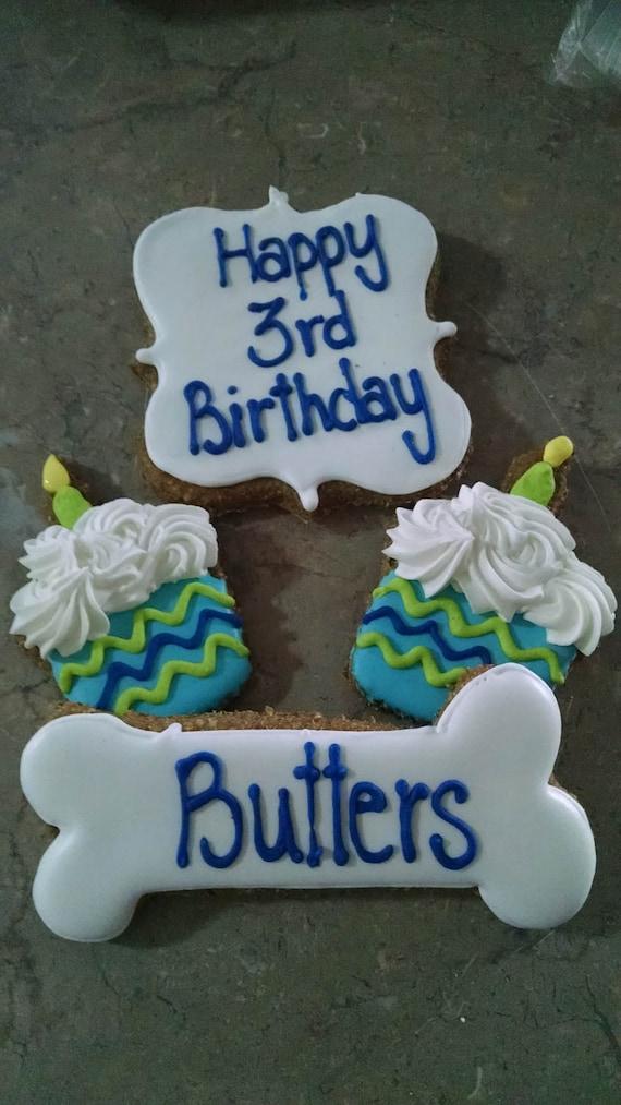 Personalized Birthday Dog Treats Cupcake Dog Treats Etsy