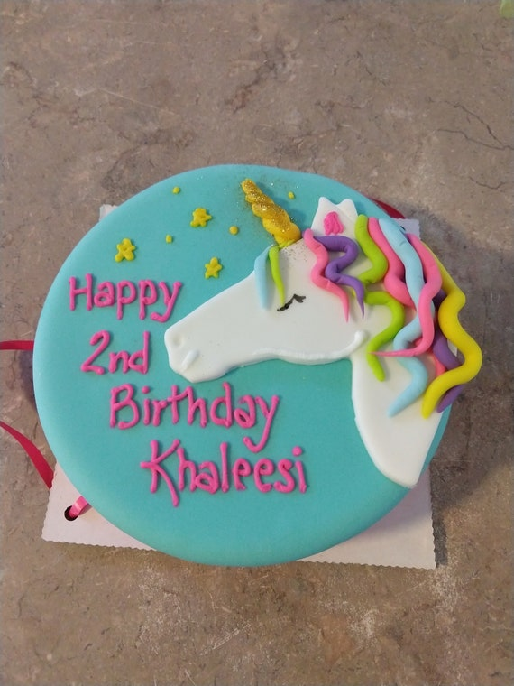Magnificent Unicorn 6 Inch Dog Birthday Cake Peanut Butter Banana Dog Cake Etsy Personalised Birthday Cards Veneteletsinfo