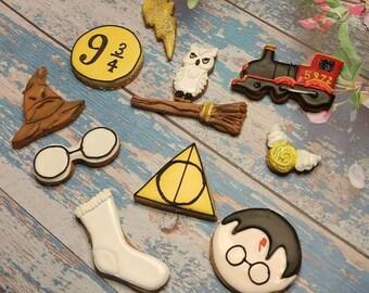 Harry Potter Wizard Dog Treats pet gift Owl, Sock , broom, lightening bolt glasses sold individually