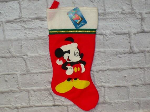 image 0 - Mickey Mouse Christmas Stocking