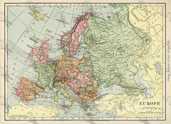 It's just a graphic of Map of Europe Printable within coloring