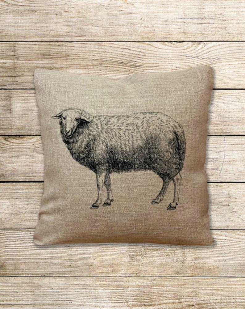 Sheep Lamb Farm Vintage image Instant Download Digital printable clipart graphic scrapbooking burlap tote towel kitchen art t-shirt HQ300dpi