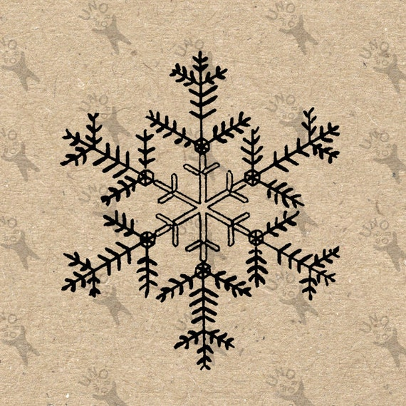 Gráfico De Imágenes Prediseñadas Para Imprimir Navidad Copo De Etsy