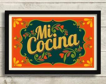 Mexican Kitchen Decor Etsy