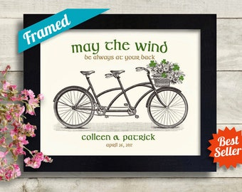 732f4898 Traditional Irish Wedding Gift, Irish Decor, Engagement Gift, Shamrock  Decor Saint Patricks Day Ireland Print Irish Blessing Sign