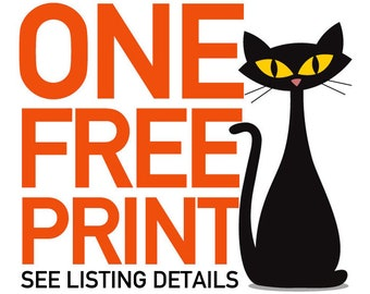 DO NOT purchase this listing - Use Discount Coupon Code: ONEFREEPRINT - Good for three or more 11x17 (non- personalized) prints. Free Print